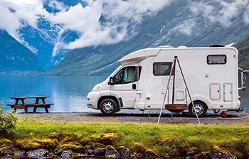Vacances en camping en pleine nature